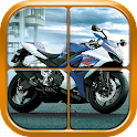 Bike Puzzle Games for Boys icon