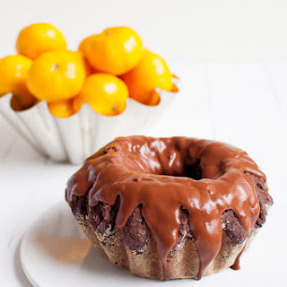 Mandarin Chocolate Cake.