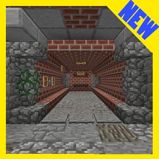 Evasion of Prison. Minecraft PE maps quest adventu