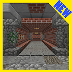 Evasion of Prison. Minecraft PE maps quest adventu