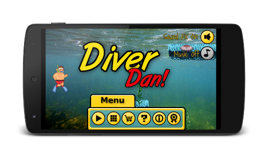 Diver Dan- screenshot thumbnail
