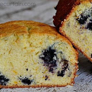 Blueberry Orange Quick Bread