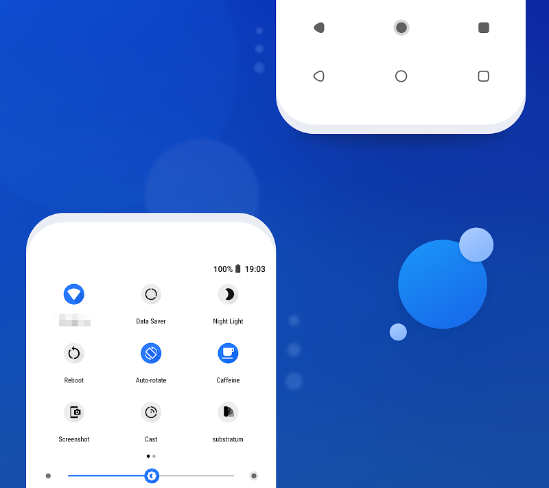 Flux White - Substratum Theme Screenshot 3