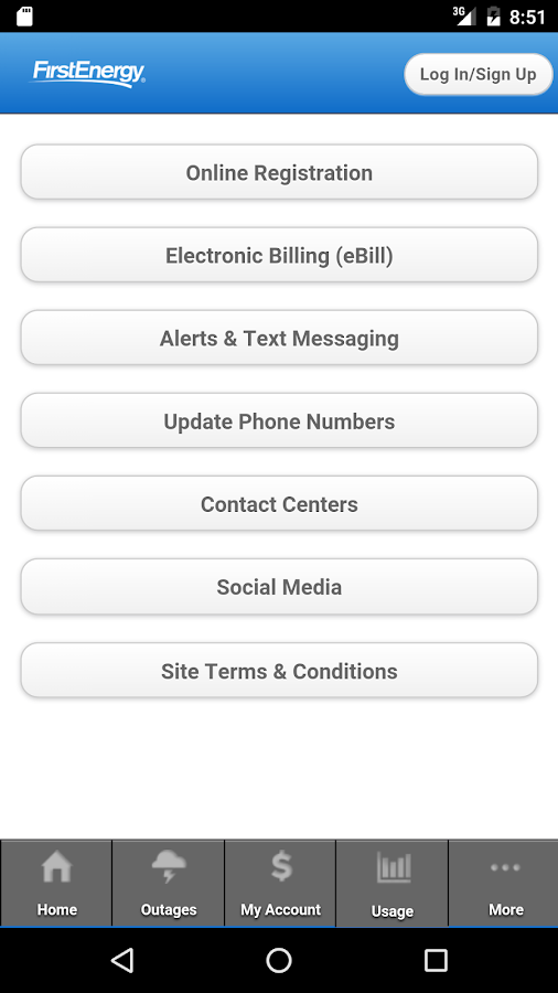 West Penn Power Bill Pay >> FirstEnergy - Android Apps on Google Play