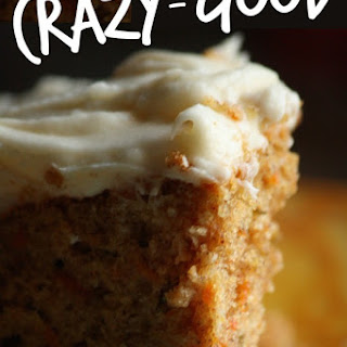 Crazy-Good Carrot Cake With Cream Cheese Icing