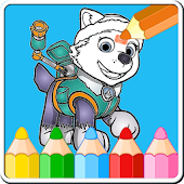 Coloring Games for Paww Patrol