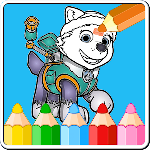 Coloring Games for Paww Patrol for PC and MAC