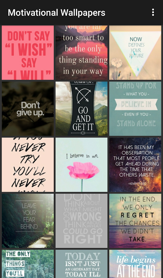 Motivational Quote Wallpapers- screenshot