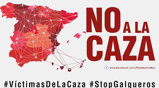 La Plataforma 'No a la caza' organiza el domingo una concentración en Almería
