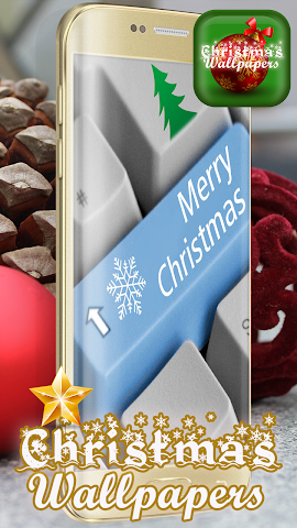 android Fonds d'écran 3d Noël Screenshot 3