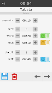 Interval Timers for workouts - náhled