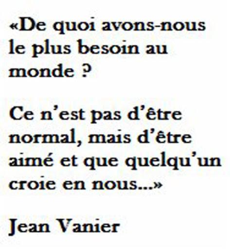 Citation Jean Vanier