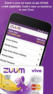 Zuum, conta digital tipo banco- screenshot thumbnail