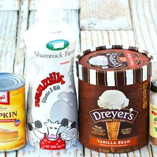 Pumpkin Spice Milkshake Recipe!