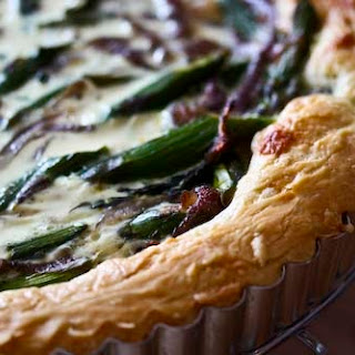 Spring Tart with Asparagus and Red Onion, and the Easiest, Tastiest Tart Dough Ever