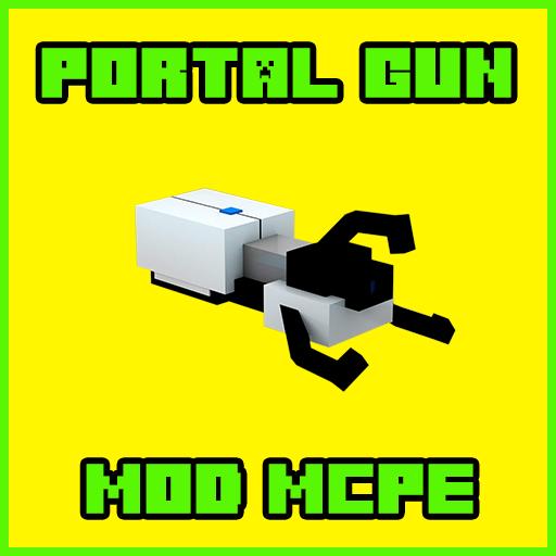 Gun Portal Mod For Minecraft PE MCPE