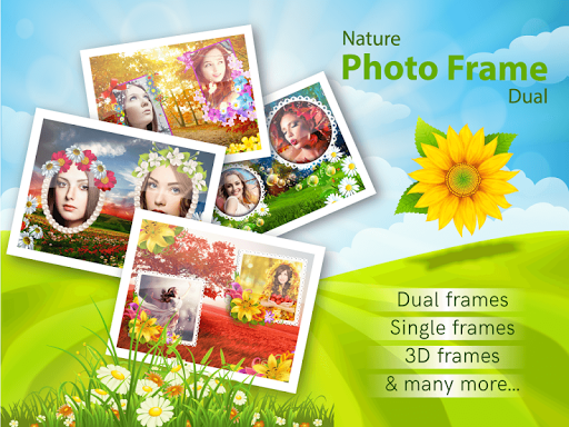 Nature Photo Frames Dual 1.1.4 gameplay | AndroidFC 1