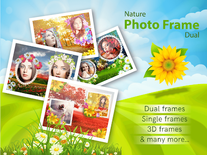 Nature Photo Frames Dual - náhled