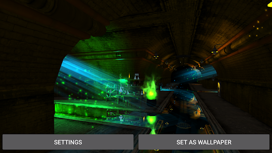 3d Parallax Weather Live Wallpaper For Android Os Fantasy Tunnel Live Wallpaper Apps On Google Play