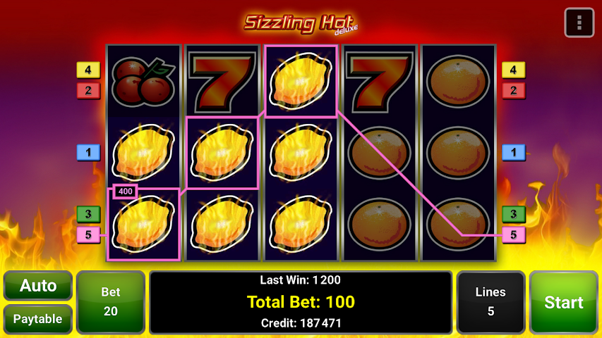 android Sizzling Hot™ Deluxe Slot Screenshot 11