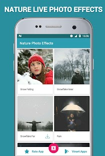 Nature Photo Effects Maker Screenshot