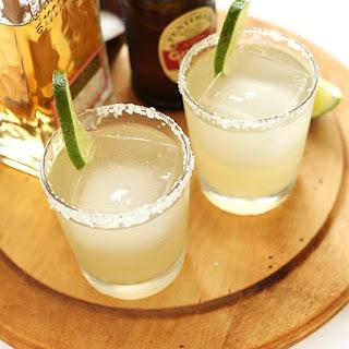 5 Ingredient Ginger Beer Margaritas.