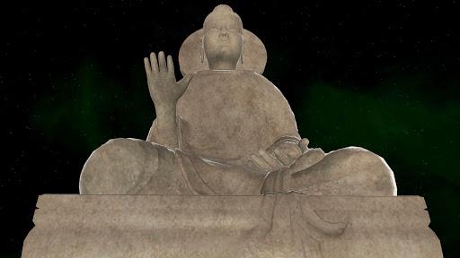 Buddha from Taxila 3D
