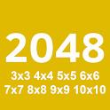 2048 All Sizes (3x3 to 10x10) icon
