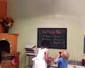 Photo: now Kaleya makes pizza