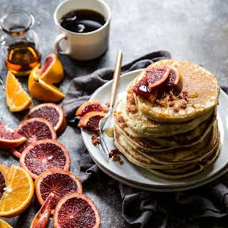 Bacon and Blood Orange Pancakes.