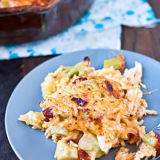 Cheesy Chipotle Chicken and Rice Casserole
