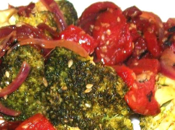 Broccoli & Peppers