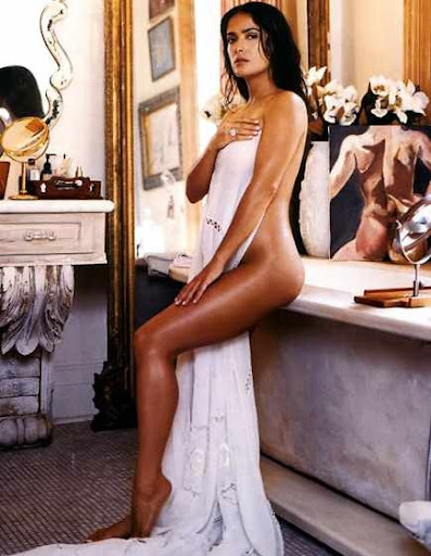 SALMA HAYEK FULLY NAKED