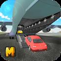Cargo Airplane Car Transporter icon