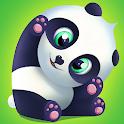 Pu - Cute giant panda bear, virtual pet care game icon