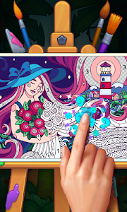 Color Stories: coloring casino & paint art gallery 1.45