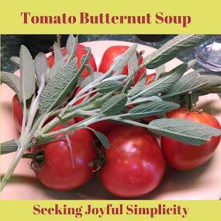 Tomato Butternut Soup