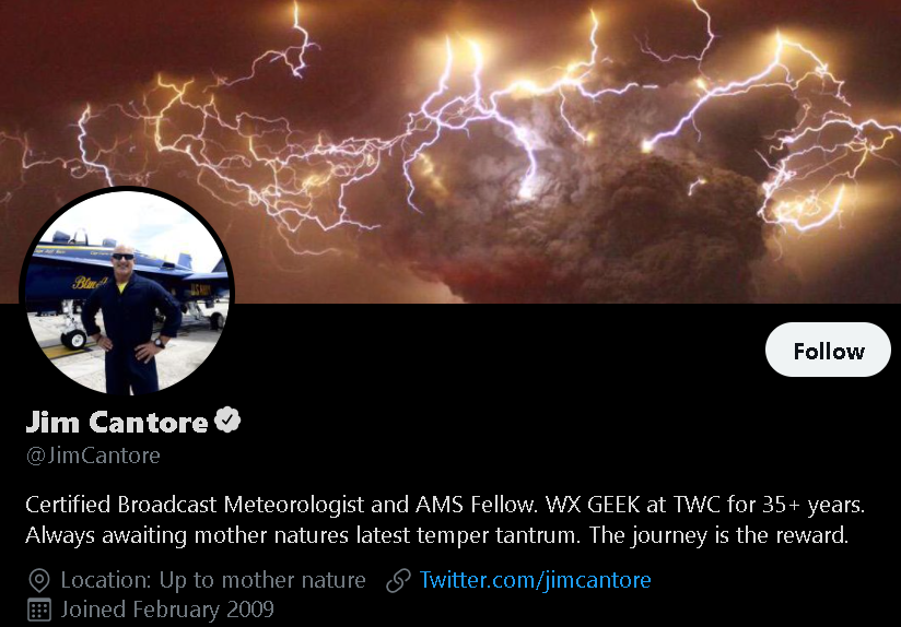 Jim Cantore - Weather Influencer