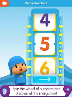 Pocoyo Numbers 1, 2, 3