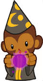 Image result for wizard monkey BTDB