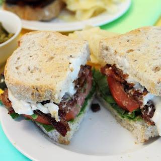 Kicked Up BLT Sandwich.