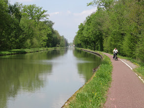 Photo: Day 27 - The Fantastic Cycle Track on the Way into Strasbourg