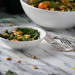 Lupini Beans and Baby Kale Salad Recipe