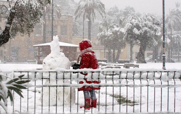 La bambina e il pupazzo di neve di Giovanna_Tamponi
