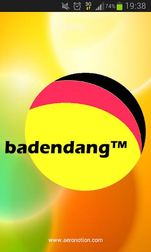 Badendang