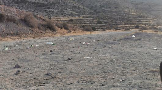 """Más basura en Cabo de Gata: """"Es una vergüenza"""""""