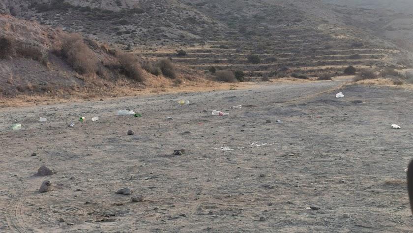 Imagen compartida por Pesca Cys en el grupo de Facebook de Amigos de las playas de Almería.