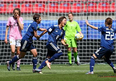 Japan boekt belangrijke zege tegen Schotland op WK vrouwenvoetbal