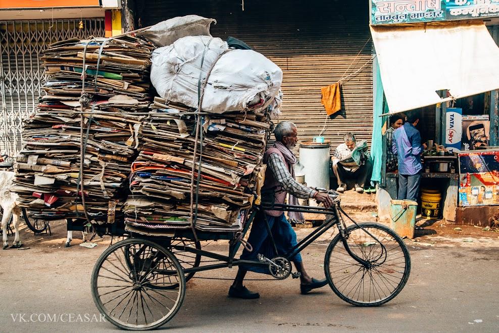 Жизнь на улицах Варанаси