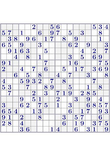VISTALGY® Sudoku screenshots 1
